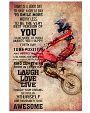 6-MOTOCROSS- TODAY IS A GOOD DAY POSTER KD 11x17 Poster front