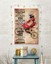 6-MOTOCROSS- TODAY IS A GOOD DAY POSTER KD 11x17 Poster lifestyle-holiday-poster-3