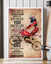 6-MOTOCROSS- TODAY IS A GOOD DAY POSTER KD 11x17 Poster lifestyle-poster-4