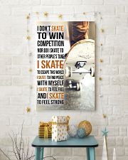 5- I DON'T SKATE TO WIN COMPETITION - SKATEBOARD 11x17 Poster lifestyle-holiday-poster-3