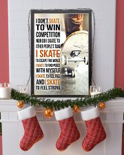 5- I DON'T SKATE TO WIN COMPETITION - SKATEBOARD 11x17 Poster lifestyle-holiday-poster-4