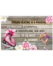 FIGURE SKATING IS PASSION POSTER 17x11 Poster front