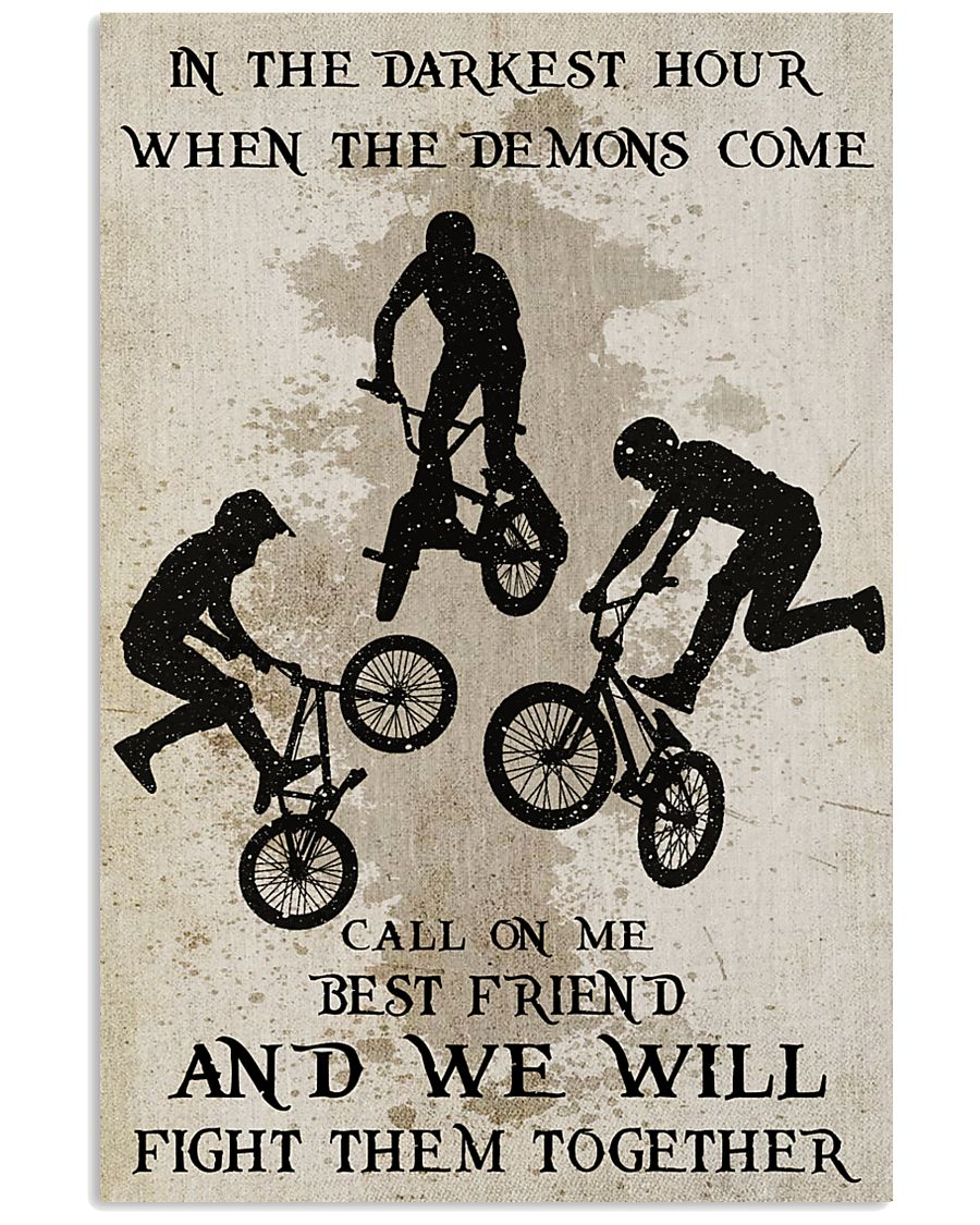 BMX Fight Them Together Poster 11x17 Poster