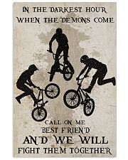 BMX Fight Them Together Poster 11x17 Poster front