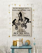 BMX Fight Them Together Poster 11x17 Poster lifestyle-holiday-poster-3