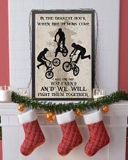 BMX Fight Them Together Poster 11x17 Poster lifestyle-holiday-poster-4
