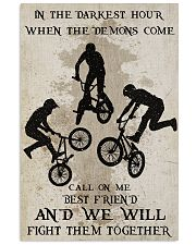BMX Fight Them Together Poster 16x24 Poster front
