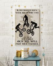 BMX Fight Them Together Poster 16x24 Poster lifestyle-holiday-poster-3
