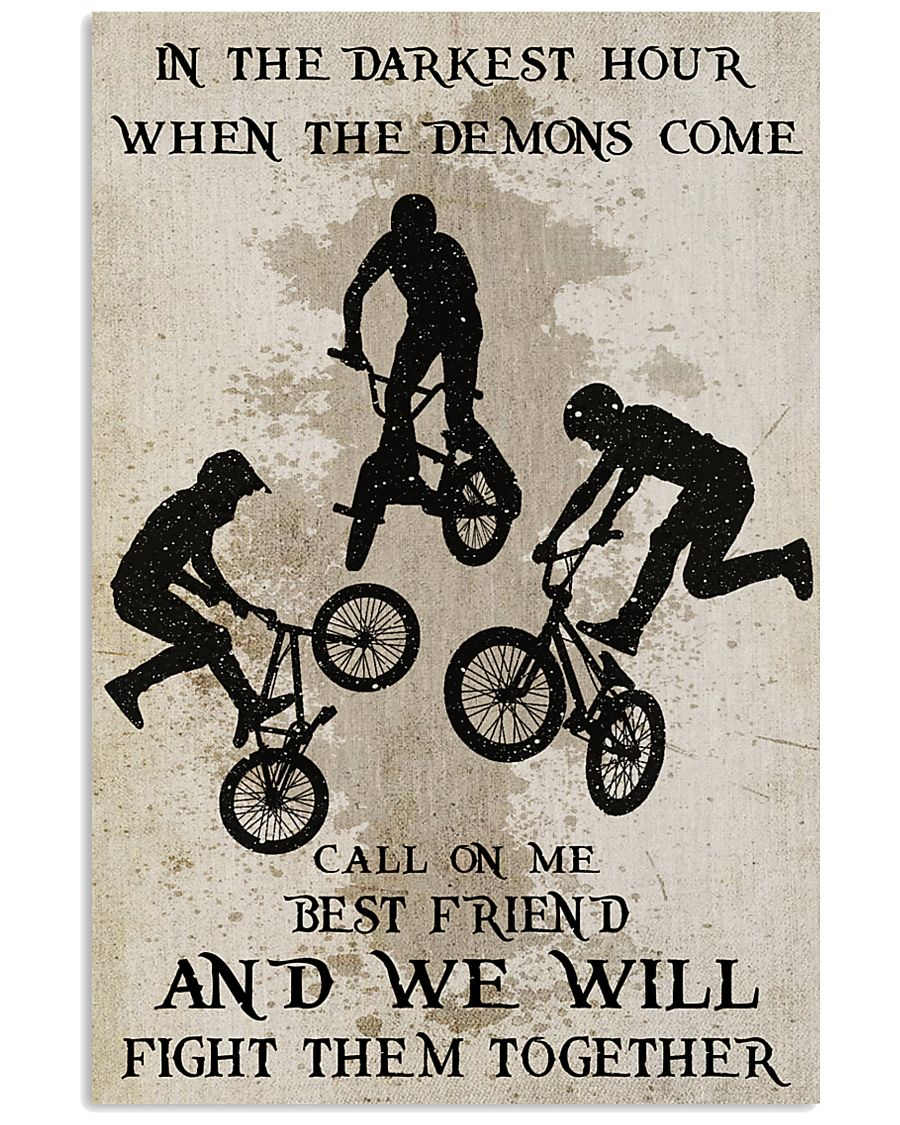 BMX Fight Them Together Poster 24x36 Poster
