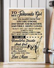16 TO MY Taekwondo Girl - Mum 16x24 Poster lifestyle-poster-4