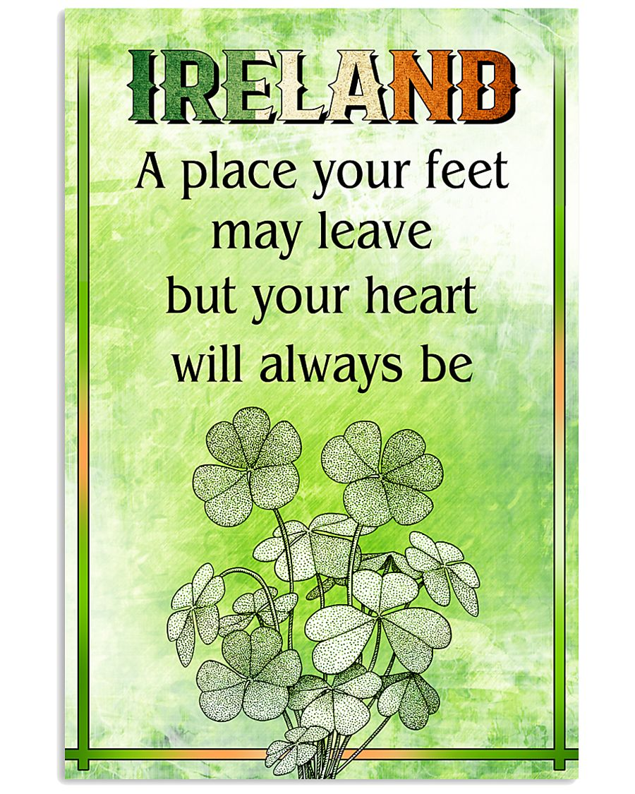 IRELAND- A PLACE YOUR FEET MAY LEAVE 11x17 Poster