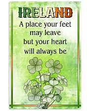 IRELAND- A PLACE YOUR FEET MAY LEAVE 11x17 Poster front