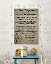 11-MY BOYFRIEND SOMETIMES- GIRLFRIEND 16x24 Poster lifestyle-holiday-poster-3