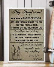 11-MY BOYFRIEND SOMETIMES- GIRLFRIEND 16x24 Poster lifestyle-poster-4
