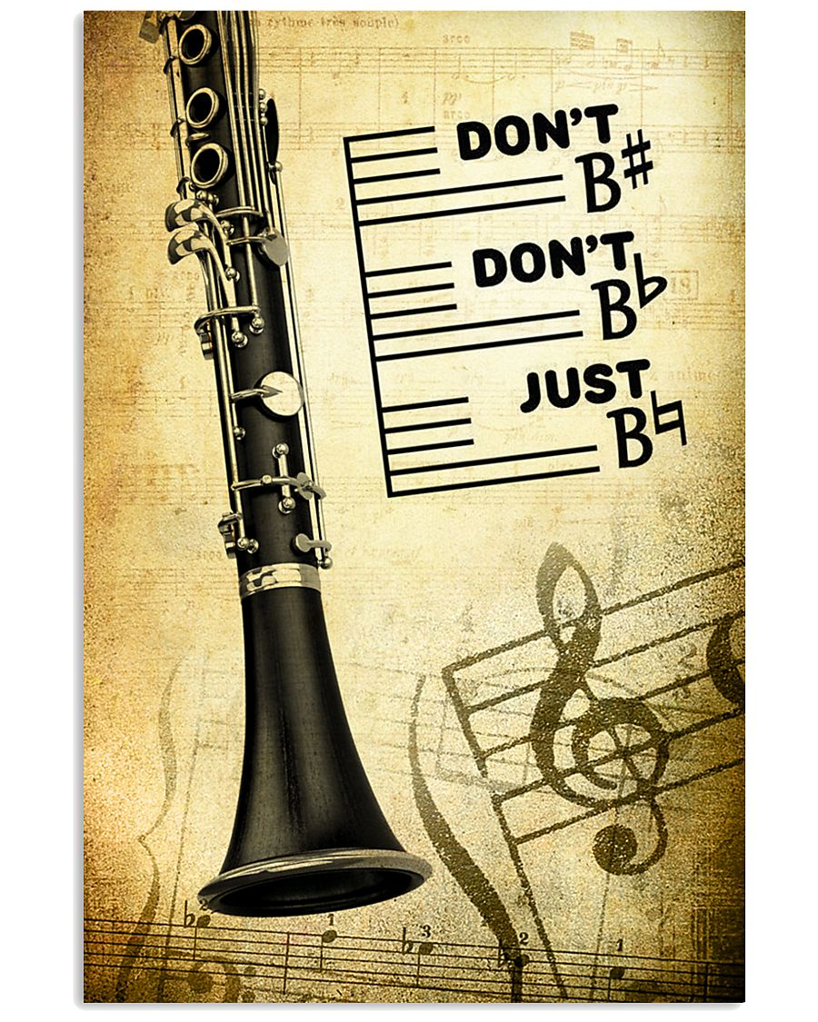 Clarinet - Don't don't Just SKY poster 11x17 Poster