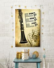 Clarinet - Don't don't Just SKY poster 11x17 Poster lifestyle-holiday-poster-3