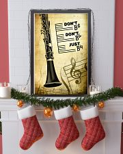 Clarinet - Don't don't Just SKY poster 11x17 Poster lifestyle-holiday-poster-4