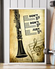 Clarinet - Don't don't Just SKY poster 11x17 Poster lifestyle-poster-4