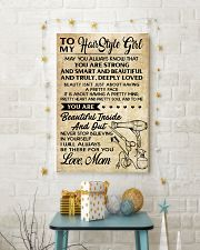 TO MY HAIR STYLE GIRL POSTER 11x17 Poster lifestyle-holiday-poster-3