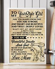 TO MY HAIR STYLE GIRL POSTER 16x24 Poster lifestyle-poster-4