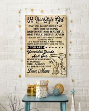 TO MY HAIR STYLE GIRL POSTER 24x36 Poster lifestyle-holiday-poster-3