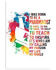 PHARMACIST - I WAS BORN 11x17 Poster front