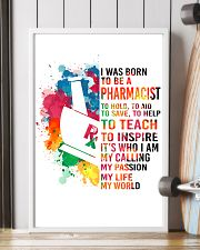 PHARMACIST - I WAS BORN 11x17 Poster lifestyle-poster-4
