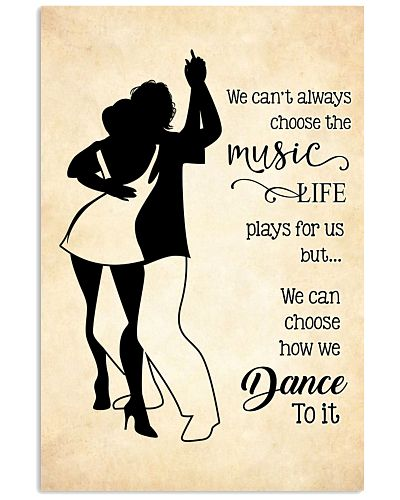 bachata- we can't always choose the music poster