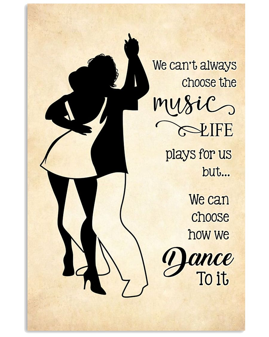 bachata- we can't always choose the music poster 11x17 Poster