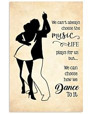 bachata- we can't always choose the music poster 11x17 Poster front