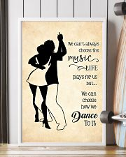 bachata- we can't always choose the music poster 11x17 Poster lifestyle-poster-4
