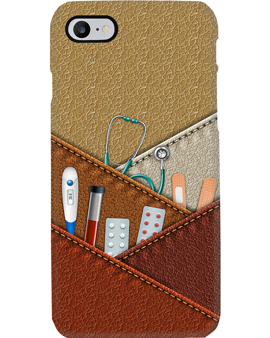 nurse tool with leather phone case LQT Phone Case