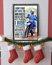 25- I DON'T RIDE MY BIKE TO WIN RACES KDH 11x17 Poster lifestyle-holiday-poster-4