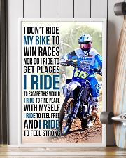 25- I DON'T RIDE MY BIKE TO WIN RACES KDH 11x17 Poster lifestyle-poster-4
