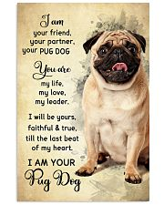 Pug Dog - Your Friend Poster SKY 11x17 Poster front