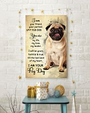 Pug Dog - Your Friend Poster SKY 11x17 Poster lifestyle-holiday-poster-3