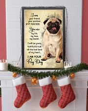 Pug Dog - Your Friend Poster SKY 11x17 Poster lifestyle-holiday-poster-4