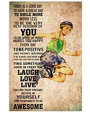 2roller skating - TODAY IS A GOOD DAY POSTER 11x17 Poster front