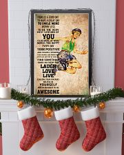 2roller skating - TODAY IS A GOOD DAY POSTER 11x17 Poster lifestyle-holiday-poster-4