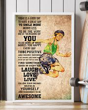 2roller skating - TODAY IS A GOOD DAY POSTER 11x17 Poster lifestyle-poster-4