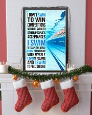 I DON'T SWIM TO WIN COMPETITIONS 11x17 Poster lifestyle-holiday-poster-4