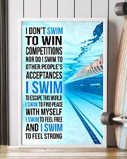 I DON'T SWIM TO WIN COMPETITIONS 11x17 Poster lifestyle-poster-4