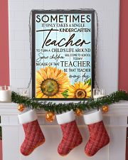 SOMETIMES IT ONLY TAKES A SINGLE KINDERGARTEN  11x17 Poster lifestyle-holiday-poster-4