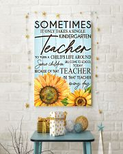 SOMETIMES IT ONLY TAKES A SINGLE KINDERGARTEN  24x36 Poster lifestyle-holiday-poster-3