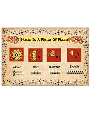 Music Is A Piece Of Pizza Poster - TL 17x11 Poster front