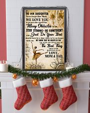3 TO OUT DAUGHTER - WE LOVE YOU- Dance 11x17 Poster lifestyle-holiday-poster-4