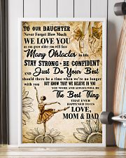 3 TO OUT DAUGHTER - WE LOVE YOU- Dance 11x17 Poster lifestyle-poster-4