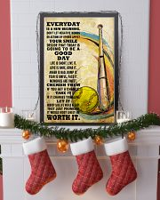 softball EVERYDAY IS A NEW 11x17 Poster lifestyle-holiday-poster-4