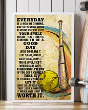 softball EVERYDAY IS A NEW 11x17 Poster lifestyle-poster-4