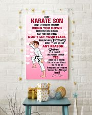 KARATE SON - DON'T LET TODAY'S TROUBLES POSTER 11x17 Poster lifestyle-holiday-poster-3